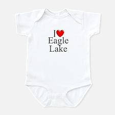 """I Love Eagle Lake"" Infant Bodysuit"