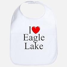 """I Love Eagle Lake"" Bib"