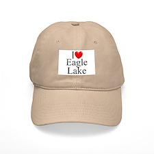 """""""I Love Eagle Lake"""" Baseball Cap"""