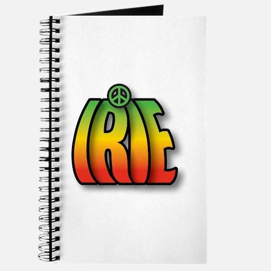 Cute Reggae one love Journal