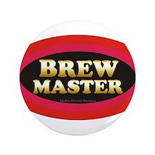 "Brew Master 3.5"" Button"