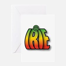IRIE PEACE Greeting Cards