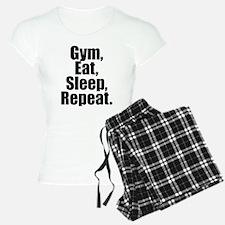 Gym Eat Sleep Repeat Pajamas