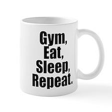 Gym Eat Sleep Repeat Mugs