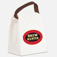 Brew Master Canvas Lunch Bag