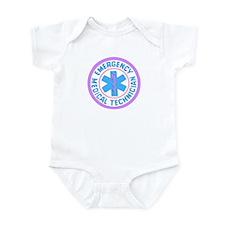 EMT Logo Pastel Infant Bodysuit