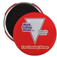 Mork Coming Home Magnets