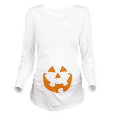 Halloween Long Sleeve Maternity T-Shirt