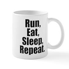 Run Eat Sleep Repeat Mugs