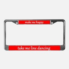 Make Me Happy License Plate Frame