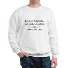 Let's Eat Grandma Commas Save Lives Sweater