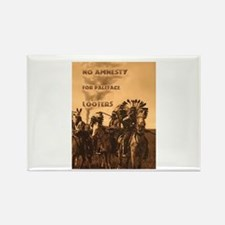 No Amnesty...for Paleface Loo Rectangle Magnet