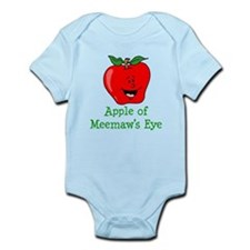 Apple of Meemaw's Eye Body Suit