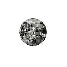 Indianapolis Vegetable Market, 1908 Mini Button