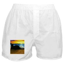 Cute Beach art Boxer Shorts
