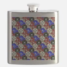 Casino Chips Flask