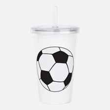 Cute Soccer coach Acrylic Double-wall Tumbler
