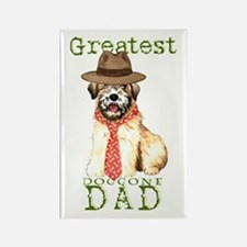 Wheaten Dad Rectangle Magnet