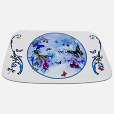 Butterfly Bee Dragonfly Orchids Medley Bathmat