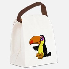 Cool Woman Canvas Lunch Bag