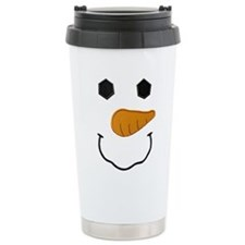 Cute Snowman christmas Travel Mug