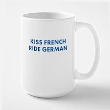 Kiss French Ride German Mug Mugs