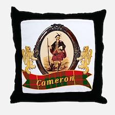 Cameron Clan Throw Pillow