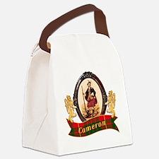Cameron Clan Canvas Lunch Bag