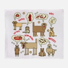 Unique Pets Throw Blanket