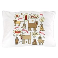 Cute Dogs Pillow Case