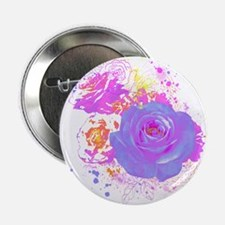 """Wild Roses 2.25"""" Button"""
