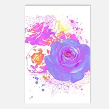 Wild Roses Postcards (Package of 8)
