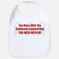 Mess With Catahoula Bib