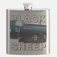 Black Sheep Squadron VMA-214 Flask