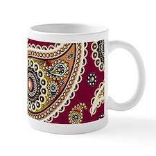 red paisley Mugs