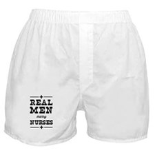 Real men marry nurses Boxer Shorts