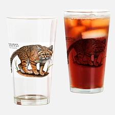 Arabian Sand Cat Drinking Glass