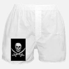 Glassy Skull and Cross Swords Boxer Shorts