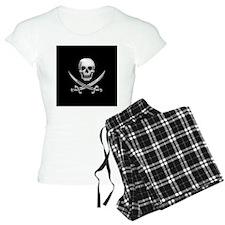 Glassy Skull and Cross Swords Pajamas
