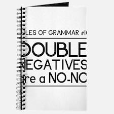Rules of grammar dub neg Journal