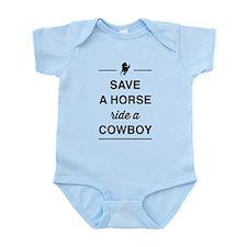 Save a horse ride a cowboy Body Suit