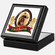 Chisholm Clan Keepsake Box