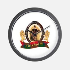 Chisholm Clan Wall Clock