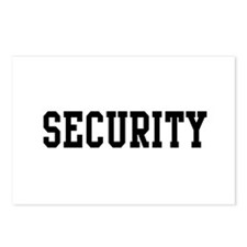 Security Postcards (Package of 8)