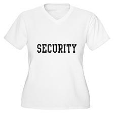 Security Plus Size T-Shirt