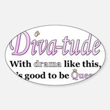 Diva-Tude Decal