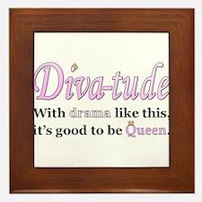 Diva-Tude Framed Tile