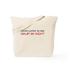 Social worker ninja Tote Bag