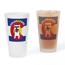 ColoRADogs_square_logo-01 Drinking Glass