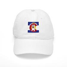 ColoRADogs_square_logo-01 Baseball Baseball Cap